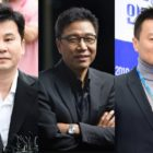 Yang Hyun Suk, Lee Soo Man, And Park Jin Young Experience Decline In Stock Asset Value