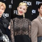 Kang Daniel, Sulli, Ji Soo, And More Rock Bold Looks At Fendi Event