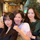 """Search: WWW"" Stars Lee Da Hee, Im Soo Jung, And Jeon Hye Jin Reunite And Cheer On Jang Ki Yong's New Movie"