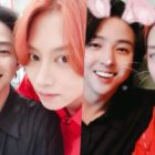 Kim Heechul Has Sweet Reunion With Former Super Junior Member Kim Ki Bum