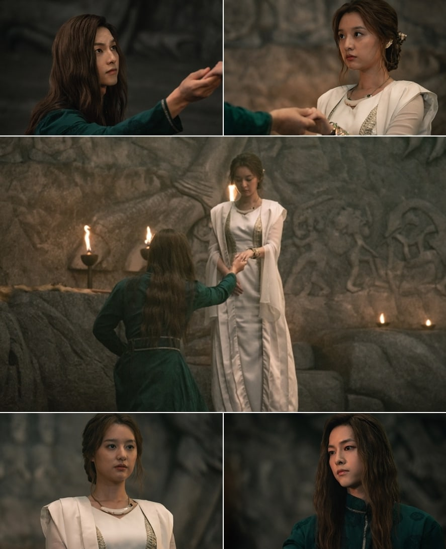 "[K-Drama]: tvN's ""Arthdal Chronicles"" has released exciting stills of Song Joong Ki and Kim Ji Won"