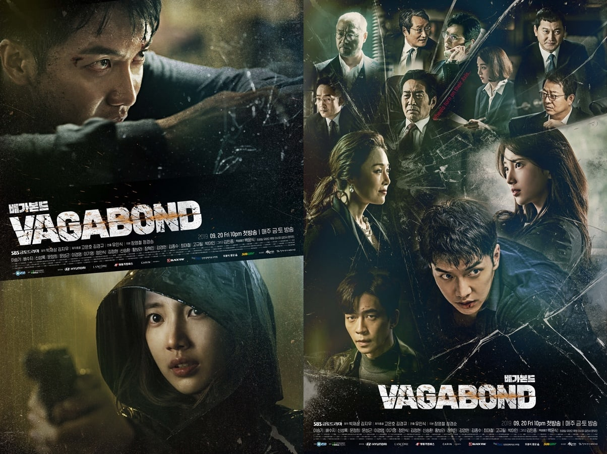 Poster drama Korea Vagabond
