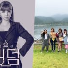 """Park Bom Shares Adorable Photo With Girl Group Members From """"Queendom"""""""