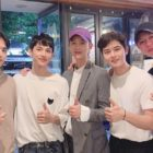 ZE:A Members Gather To Show Support For Im Siwan's Fan Meeting