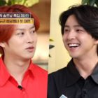 Kim Heechul Gets Emotional As He Reunites With Former Super Junior Member Kim Ki Bum On Variety Show
