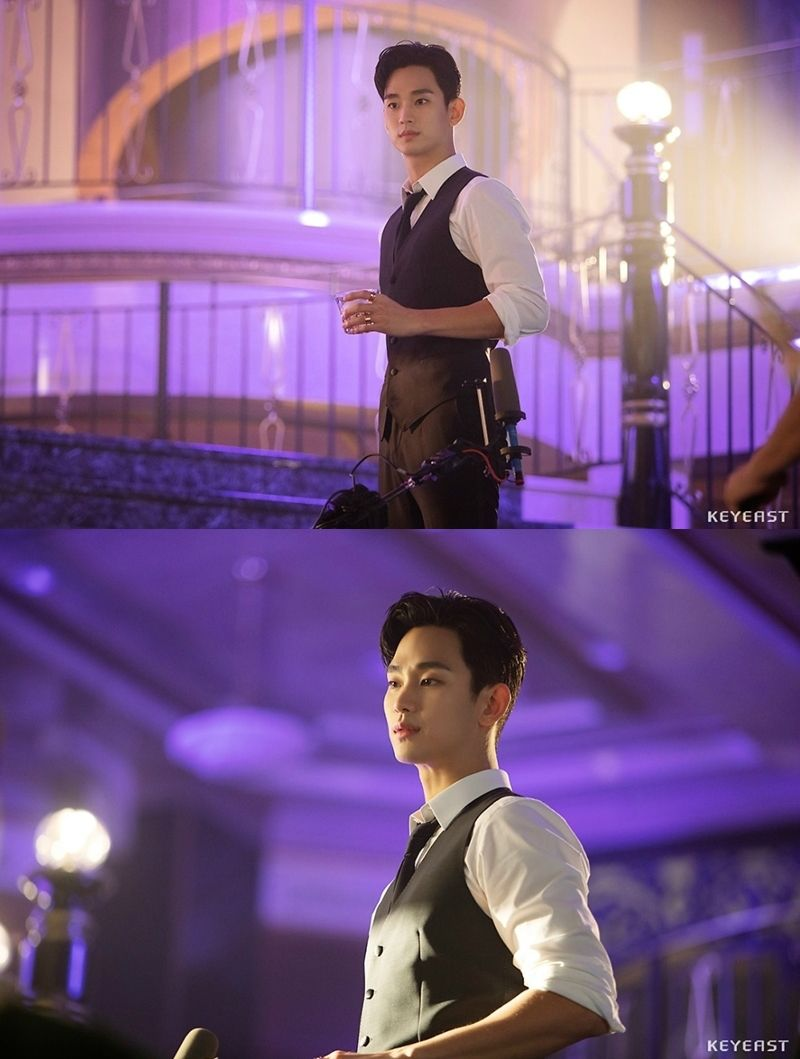 Kim Soo Hyun Is Dashing In Behind-The-Scenes Look At His