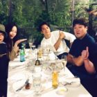 "Song Seung Heon, Krystal, Lee Si Eon, And More Have A ""The Player"" Reunion"
