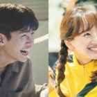 "Ji Chang Wook And Won Jin Ah Show Bright Smiles Behind The Scenes Of ""Melting Me Softly"""