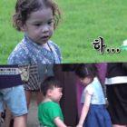 "Watch: Gun Hoo Gets Adorably Jealous When Na Eun Befriends Little Boy On ""The Return Of Superman"""