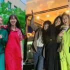Gong Hyo Jin And Son Dam Bi Receive Surprise Visit + Gift From Jung Ryeo Won And Soy On Drama Set