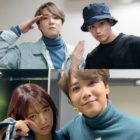FTISLAND's Lee Hong Ki Snaps Photos With Kim Soo Hyun, Park Shin Hye, And More Ahead Of Military Enlistment
