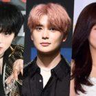 """MONSTA X's Minhyuk, NCT's Jaehyun, And APRIL's Naeun Chosen As New """"Inkigayo"""" MCs"""