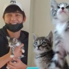 YouTuber Shares Sweet Story Of How Yoo Seung Ho Adopted Rescued Kittens From Him