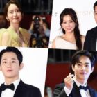 Stars Light Up The Red Carpet At Busan International Film Festival
