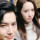 EXO's Suho Snaps Fun Photos With YoonA, Gong Myung, And Lee Dong Hwi At The 24th BIFF