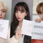 Members Of MONSTA X, WJSN, AB6IX, And More Show Their Handwriting For Hangul Day Font Contest
