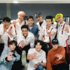 "Super Junior Thanks NCT And TVXQ Members For Their Support At 1st Night Of ""Super Show 8"""