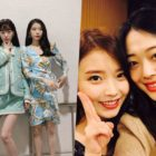 """IU's """"Peach"""" Reenters Charts As Many Listen In Remembrance Of Sulli"""