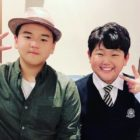 "Yoon Hoo And Junsu From ""Dad! Where Are We Going?"" Reunite To Support Lee Jong Hyuk's New Film"