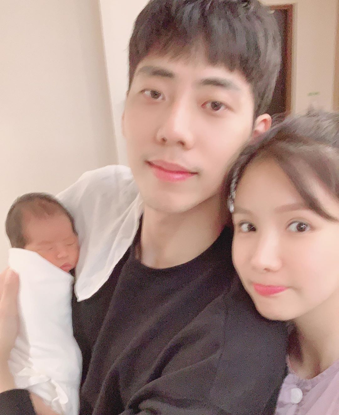 Former After School Member Jung Ah Announces Birth Of 1st Child + Shares  Adorable Photos Of Newborn Son   Soompi