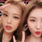 Yubin Shares Photos From Fun Meet-Up With Fellow Wonder Girls Member Sunmi