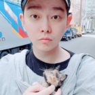 Yoon Kyun Sang Adopts Kitten And Reveals How She Won Him Over