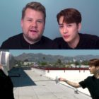 Watch: GOT7's Jackson And James Corden Bond Over Food, Sports, And More