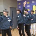 """Watch: TXT Unexpectedly Takes On Double-Speed Dance Challenge For """"Run Away"""""""