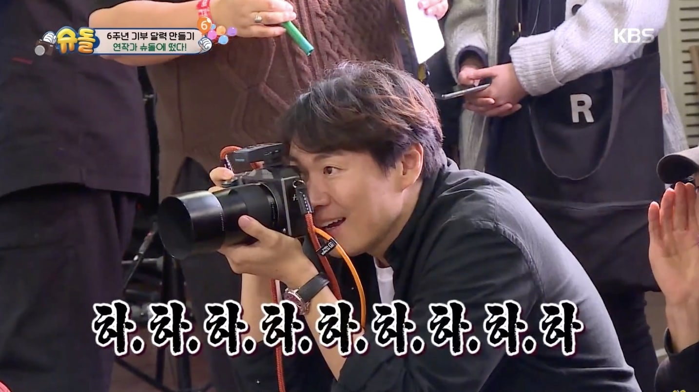 Watch William Gun Hoo Na Eun And More Pose For 6th Anniversary Calendar On The Return Of Superman Soompi