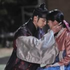 "Jang Dong Yoon And Kim So Hyun Share A Sorrowful Kiss In ""The Tale Of Nokdu"""