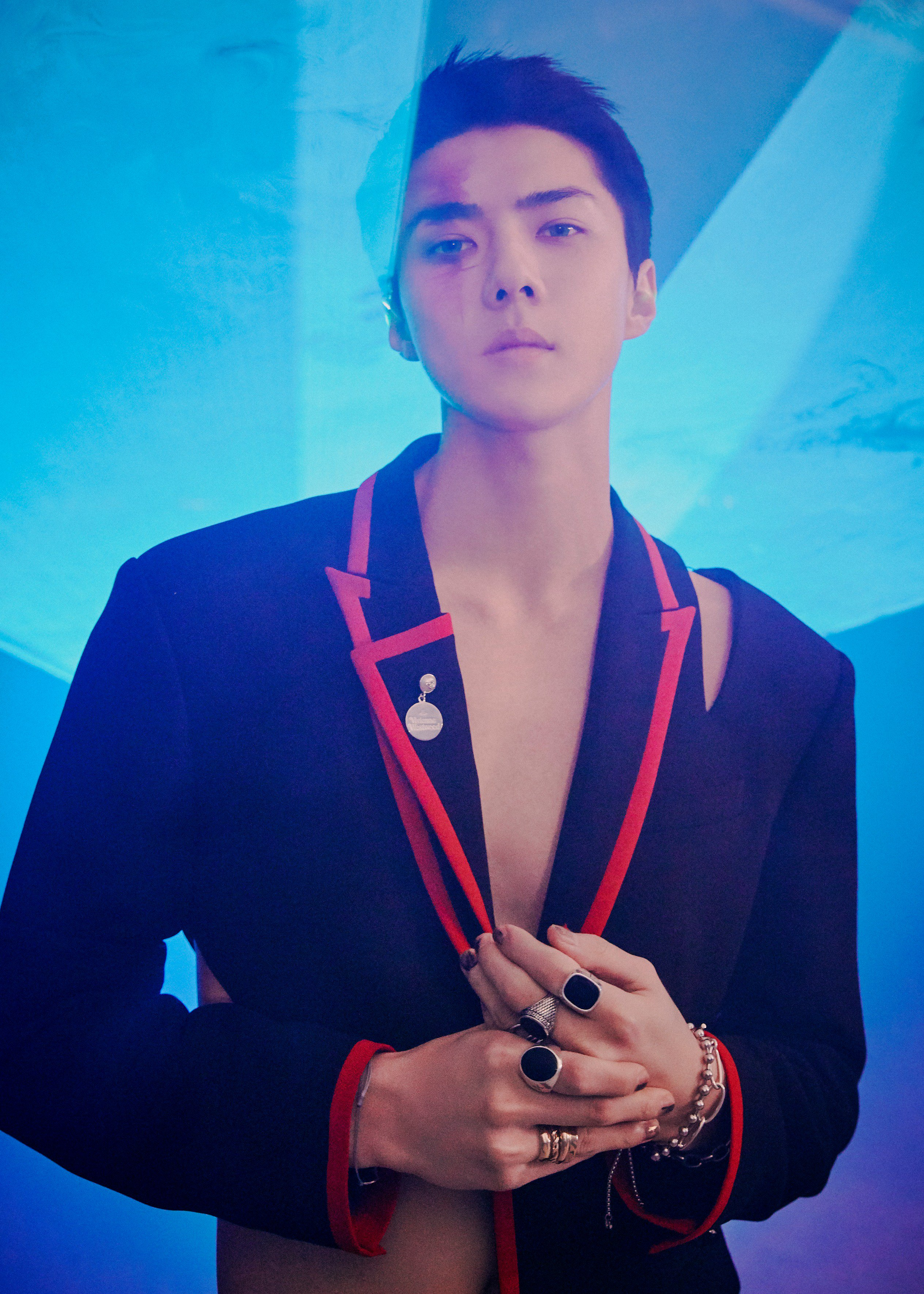 Watch Exo S Sehun Takes On His Double In Obsession Teasers Soompi