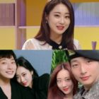 Kyungri Talks About Dating Jeong Jinwoon And How They Stay In Touch While He's In The Military, And Shares Photos