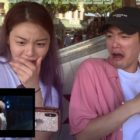 Watch: Ailee, Eric Nam, BTOB's Peniel, And More React To Amber Liu's Kiss Scene In Her New MV