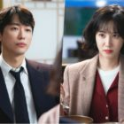 "Namgoong Min And Park Eun Bin Share Tense First Meeting In Upcoming Drama ""Stove League"""