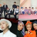SuperM, BTS, RM, MAMAMOO, And More Rank High On Billboard's World Albums Chart