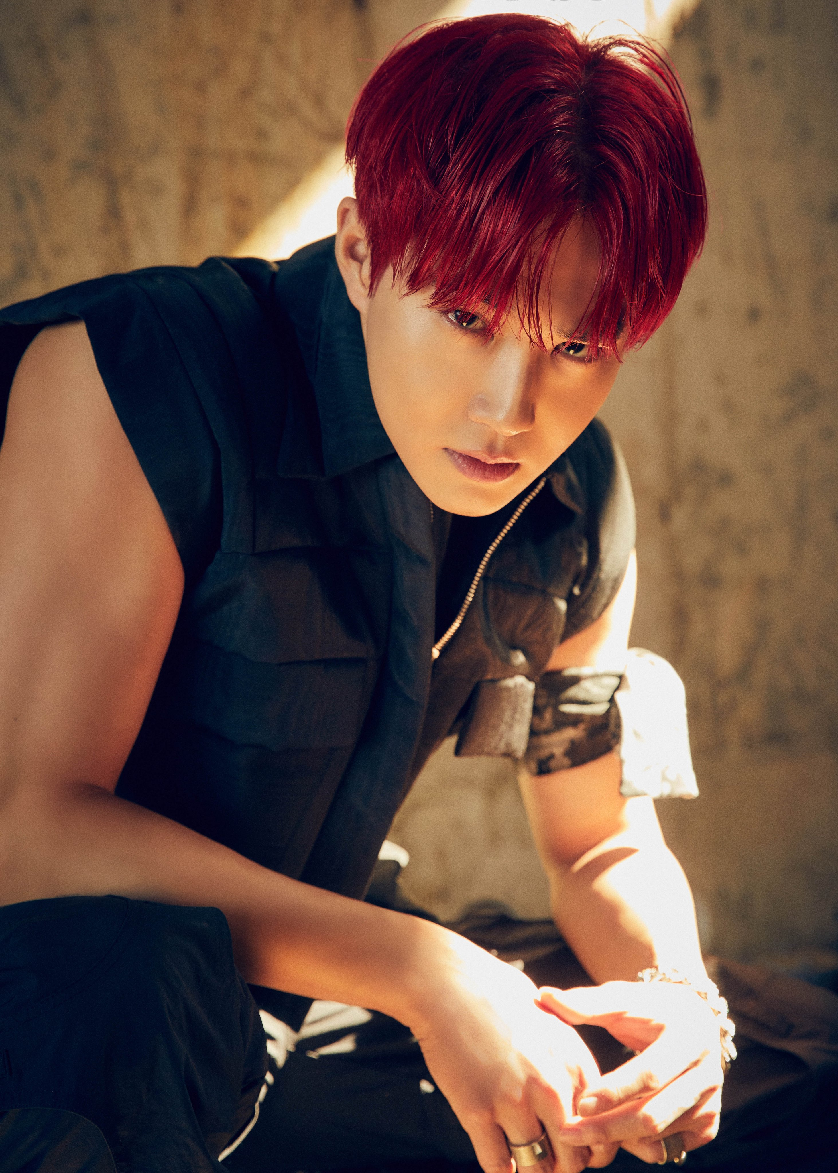 Watch Exo S Suho Rocks Good And Evil Looks With Fiery Red Hair In Obsession Teasers Soompi