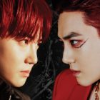 """Watch: EXO's Suho Rocks Good And Evil Looks With Fiery Red Hair In """"Obsession"""" Teasers"""