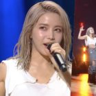 "MAMAMOO's Solar Explains Decision To Rip Her Shirt Off During Cover Of BTS's ""Fire"""