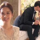 "Watch: Jang Nara And Lee Sang Yoon Are Cheerful While Filming Wedding Scene In ""VIP"""