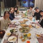 "Cast Of ""E.X.I.T"" Including Girls' Generation's YoonA And Jo Jung Suk Gather For Year-End Dinner"