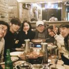 "Choi Jin Hyuk Hangs Out With Nana, Son Hyun Joo, And More In Cute ""Justice"" Cast Reunion"