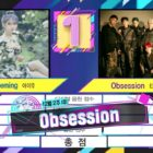 "Watch: EXO Takes 4th Win For ""Obsession"" On ""Music Bank""; Performances By Stray Kids, Kim Jae Hwan, Kim Sejeong, And More"