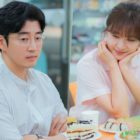 "Yoon Kye Sang Can't Take His Eyes Off Of Ha Ji Won's Sweet Smile In ""Chocolate"""