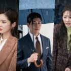 """Jang Nara, Lee Sang Yoon, And Pyo Ye Jin Find Themselves In Excruciatingly Awkward Situation In The Rain On """"VIP"""""""