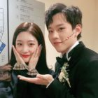 """DIA's Jung Chaeyeon Shows Support For """"to. Jenny"""" Co-Star Kim Sung Cheol In Sweet Reunion"""