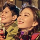 Park Bo Gum And Red Velvet's Seulgi Chosen As Models For Coca-Cola Korea's New Year Campaign