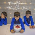 Song Il Gook And The Song Triplets Share Their Holiday Greetings