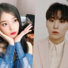 """IU And SEVENTEEN's Seungkwan Share Heartwarming Interaction Over His """"Love Poem"""" Cover"""