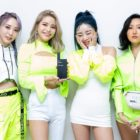 "MAMAMOO Takes 7th Win For ""HIP"" On ""Inkigayo"""