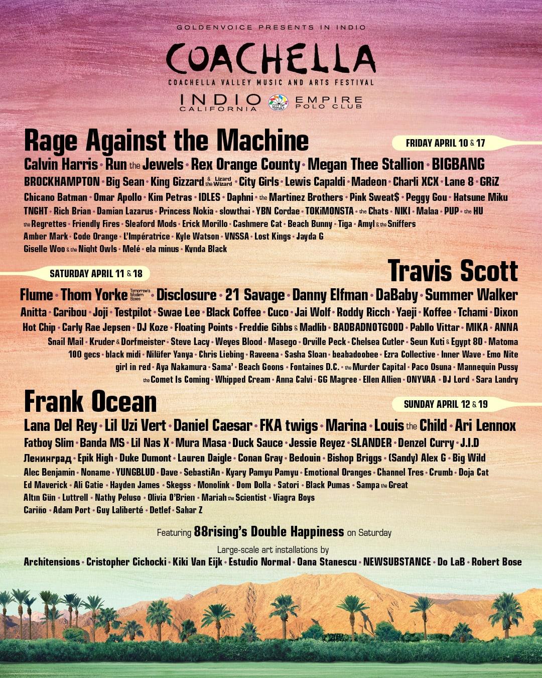 BIGBANG và Epik High tham dự Coachella 2020 - Ảnh 1.